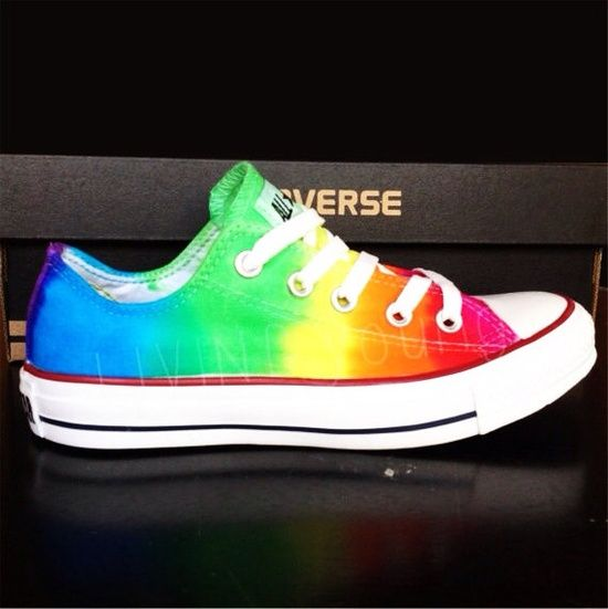 7f7c7ad46ecf Rainbow Tie Dye Converse  89 Why are these  89 !