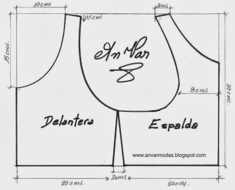 Pin de Toñi Varon en Patrones | Pinterest | Costura, Moldes y Patrones