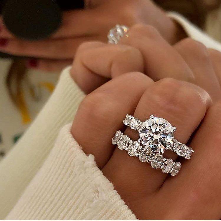 50+ Simple Wedding Rings Design Ideas | Wedding ring designs ...
