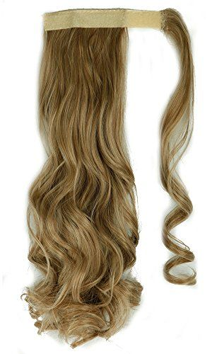 Snoilite 18 Inches 45cm Curly Light Ash Brown Mix Bleach Blonde