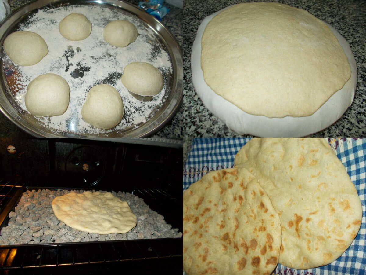 عالم الطبخ والجمال طريقة عمل خبز الطابون الفلسطيني Arabic Food Bread Baking Bread