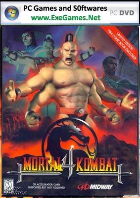 Mortal Kombat 4 Free Download PC Game Full Version Exe