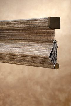 Hunter Douglas Alustra® Woven Textures® Roman Shades #Hunter_Douglas #Alustra #Woven_Textures #Roman_Shades
