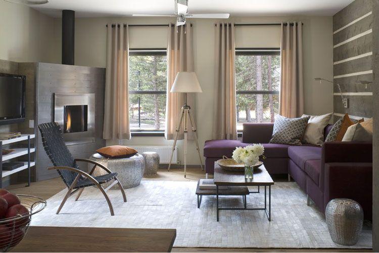 High Quality Purple Themed Interior Decor