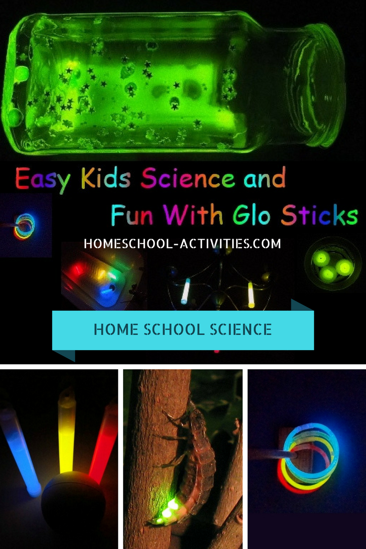Cool Science Experiments For Kids With Glow Sticks Cool Science Experiments Science Experiments Kids Easy Science Experiments Kids
