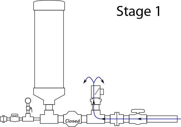 hydraulic ram diagram blind eye pump pinterest pumping pvc pipe dyi water