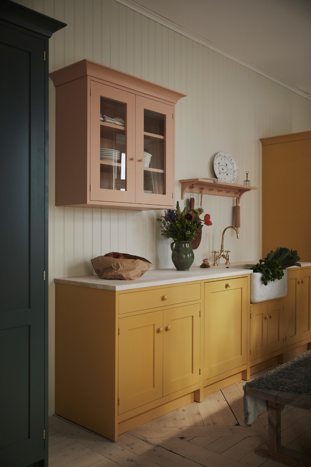 Kitchen of the Week: A Pastel Kitchen Inspired by Swedish Artist Carl Larsson