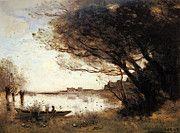 """New artwork for sale! - """" Corot Jean Baptiste Camille L Inondation by Jean Baptiste Camille Corot """" - http://ift.tt/2qqauuO"""