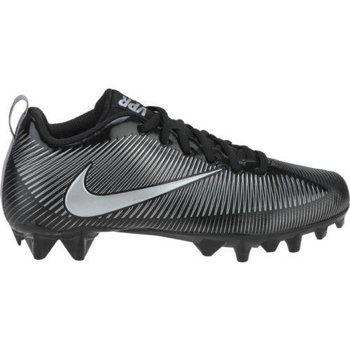 Nike Boys  Vapor Strike 5 TD Football BG Cleats (Black Metallic  Silver Black 459bb152cefa