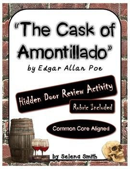 The Cask of Amontillado | Activities, English and School