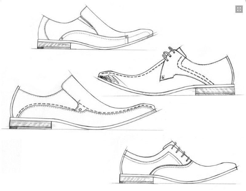 Dress Shoe Coloring Pages Zapatos Dibujos Disenos De Zapatos Diseno De Calzado