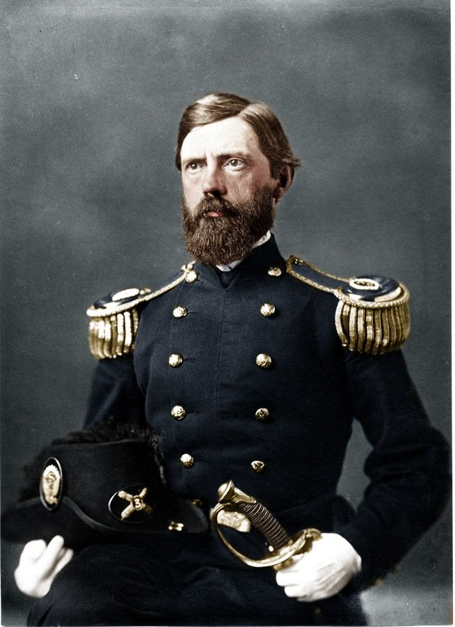 Major General John F Reynolds, a highly respected Union General, killed at Gettysburg.