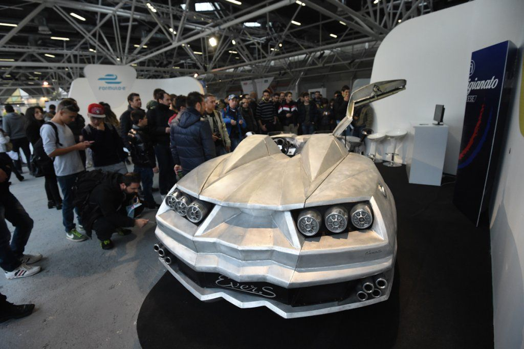 Motor Show: inaugurazione con tanto pubblico (FOTO)