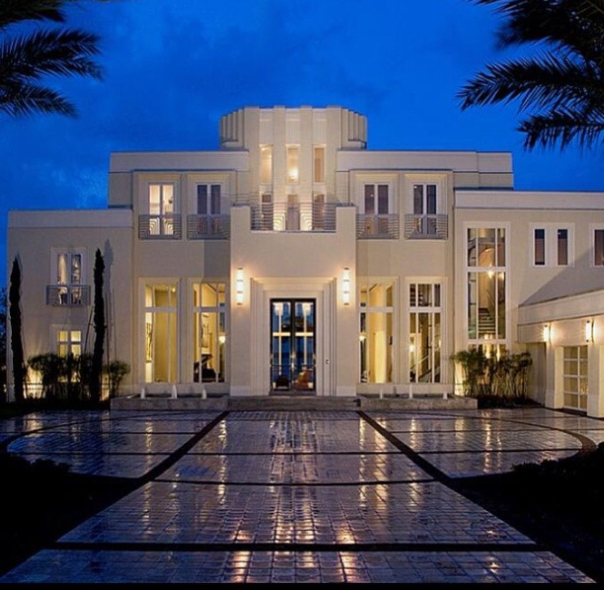 Modern castle house modern mansion white mansion luxury modern homes my dream