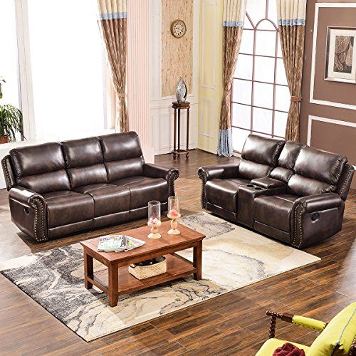 harper bright designs sectional recliner sofa set brown rh pinterest com