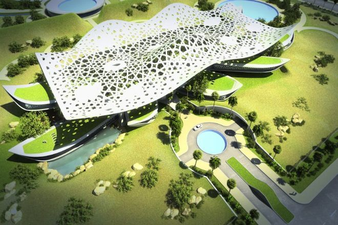 A Palace For Nature, Qatar Architecture, Green Design, Sustainable Design,  Eco