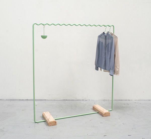 New wave sine clothing racks 2modern design talk