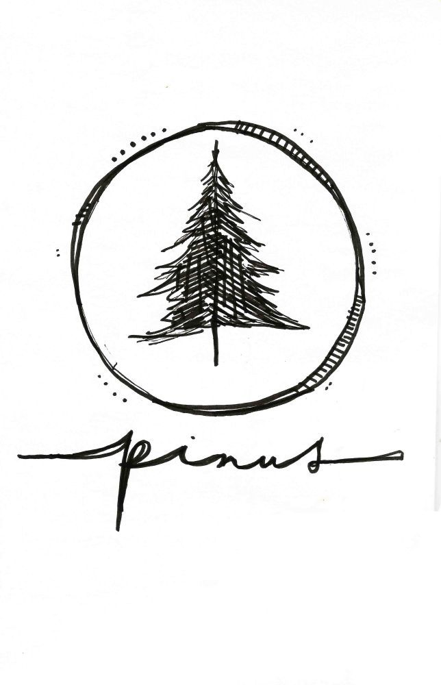 Notebook Duende Hand Lettering Tree Logo Design Logo Design Tree Logos