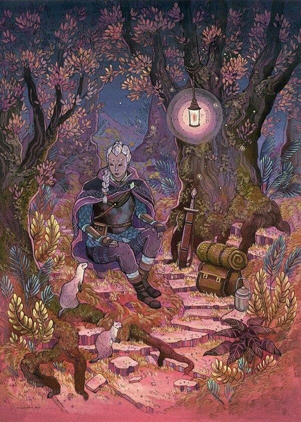 Nicole Gustafsson Art Illustration Art