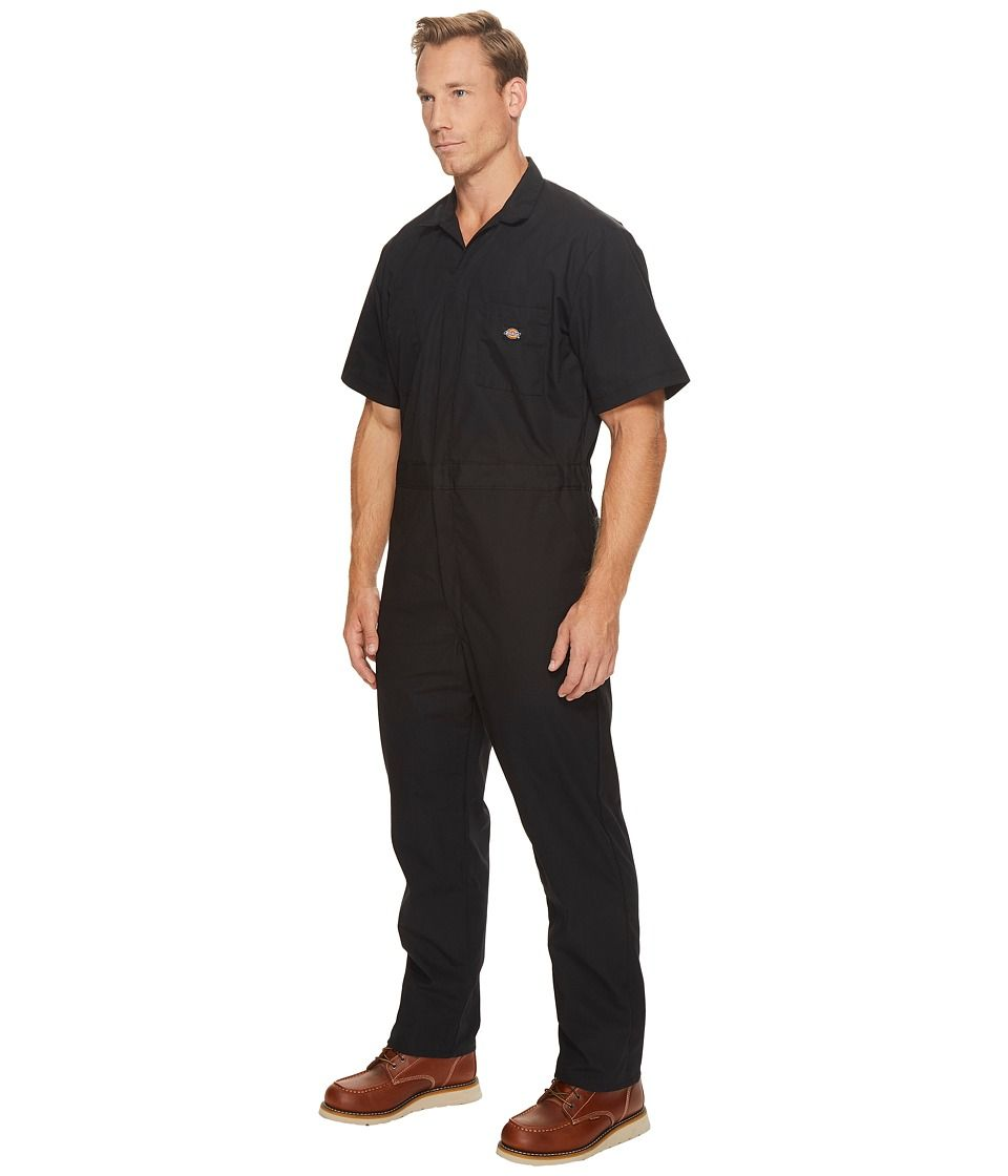 dickies short sleeve coveralls men s overalls one piece on dickies coveralls id=18692