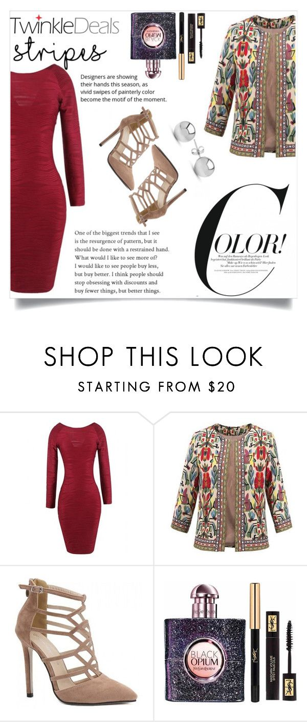 """""""TwinkleDeals 54"""" by maidaa12 ❤ liked on Polyvore featuring Yves Saint Laurent and Jewelonfire"""