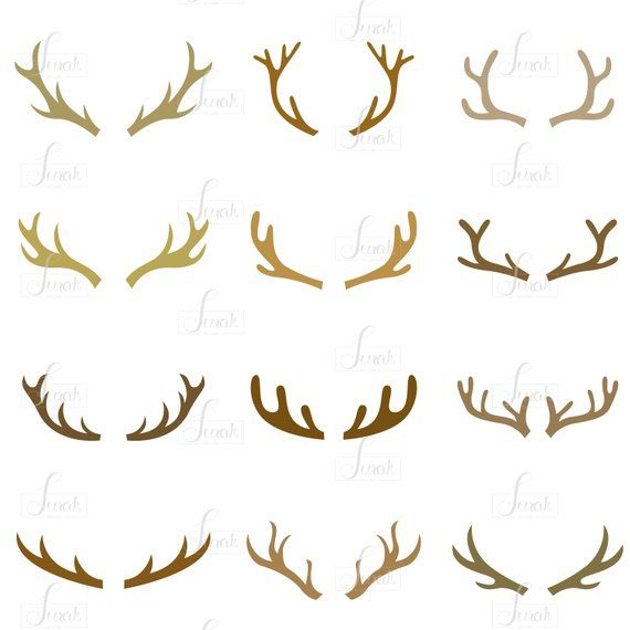 Antler Silhouette Antler Clipart Animal Clip Art Deer Horn Silhouette Deer Antler Svg Antler Vector Png Svg Dxf Eps Buy 2 Get 1 Free Silhouette Clip Art Deer Horns Silhouette