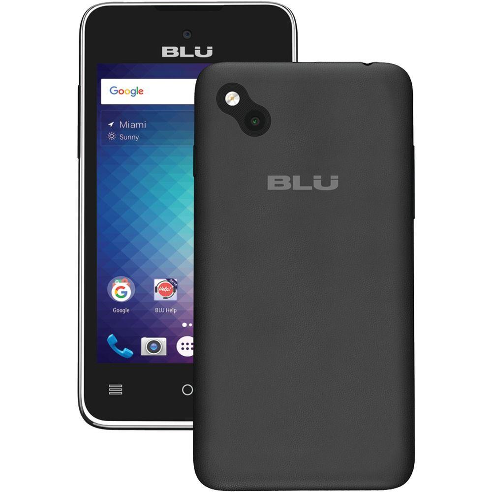 Blu a030ublack advanced 40 l2 smartphone black