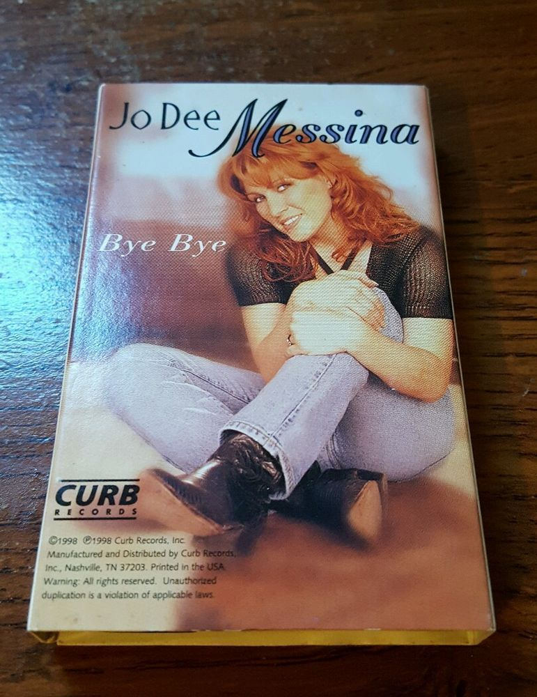 Jo Dee Messina Bye Bye/ I'm Alright Cassette   Bye bye ...