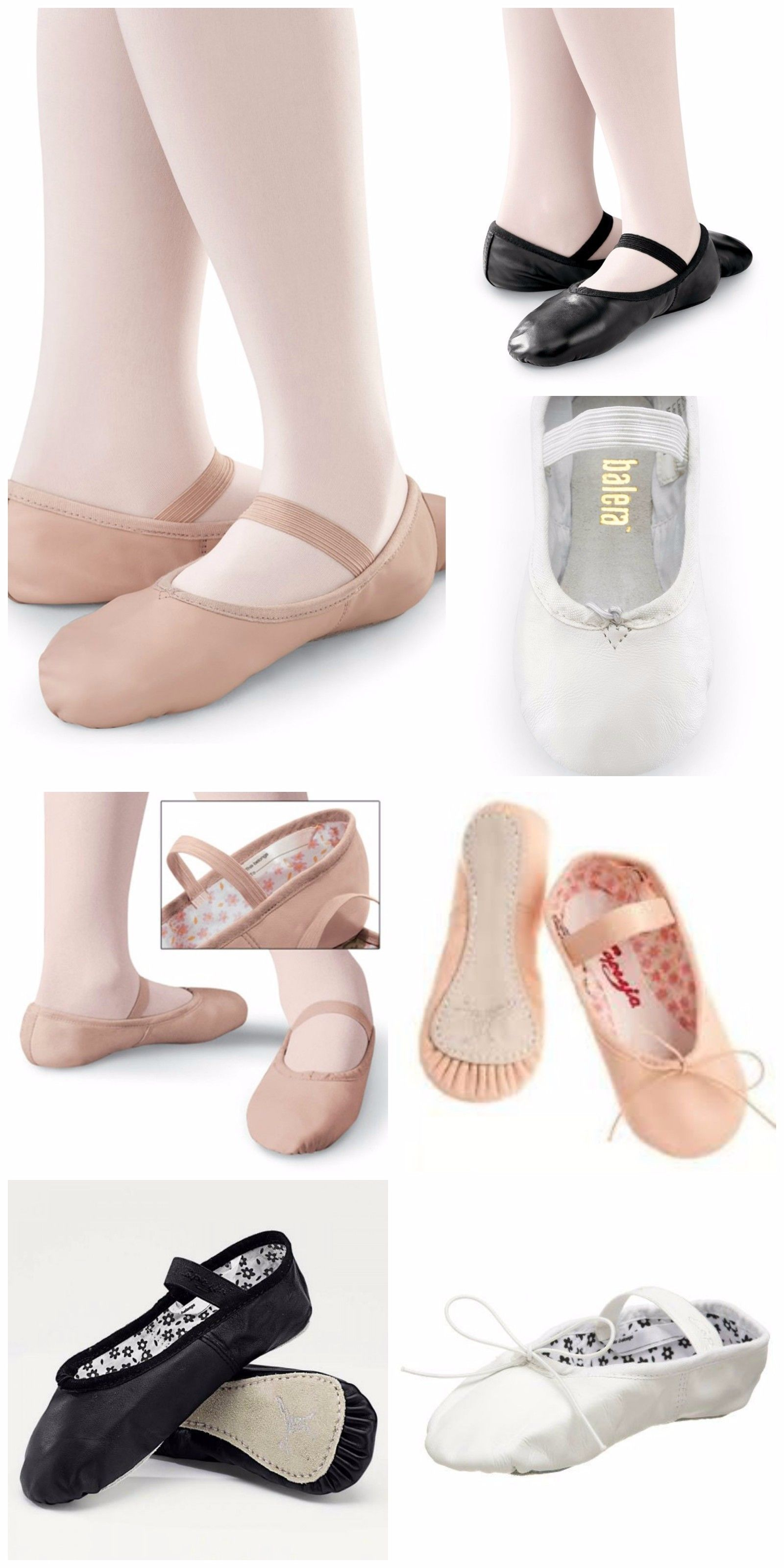 Pin On Full Sole Ballet Shoes