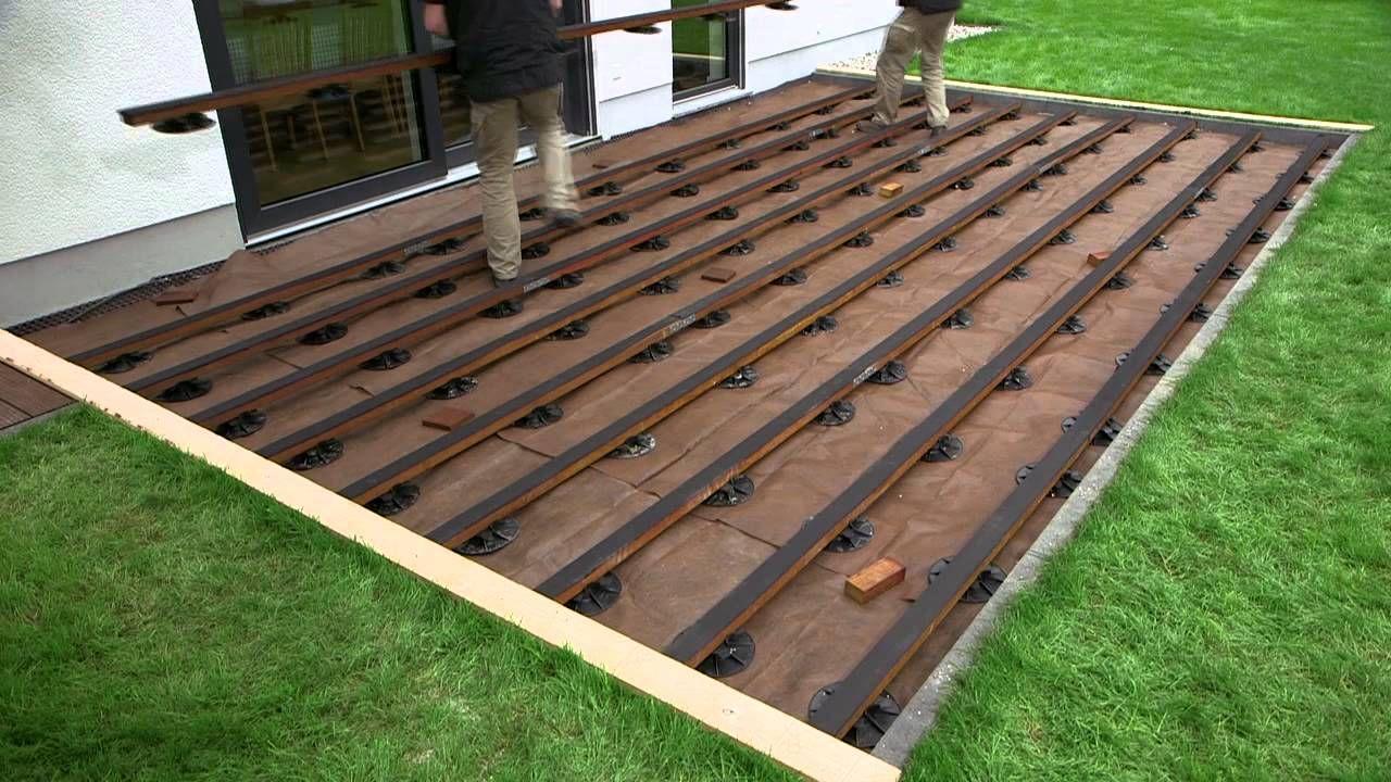 Konny präsentiert SPAX Terrasse mit unsichtbarer Verschraubung ...