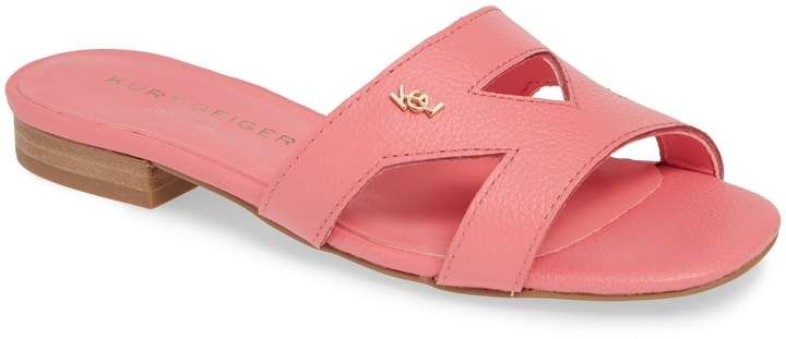 ea07f8a6671 Women's Kurt Geiger London Odina Cutout Slide Sandal, Size 6 M ...
