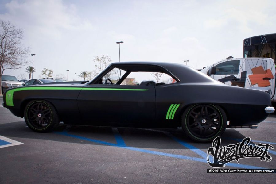 West Coast Customs Monster Energy Camaro Le Awesome Cars