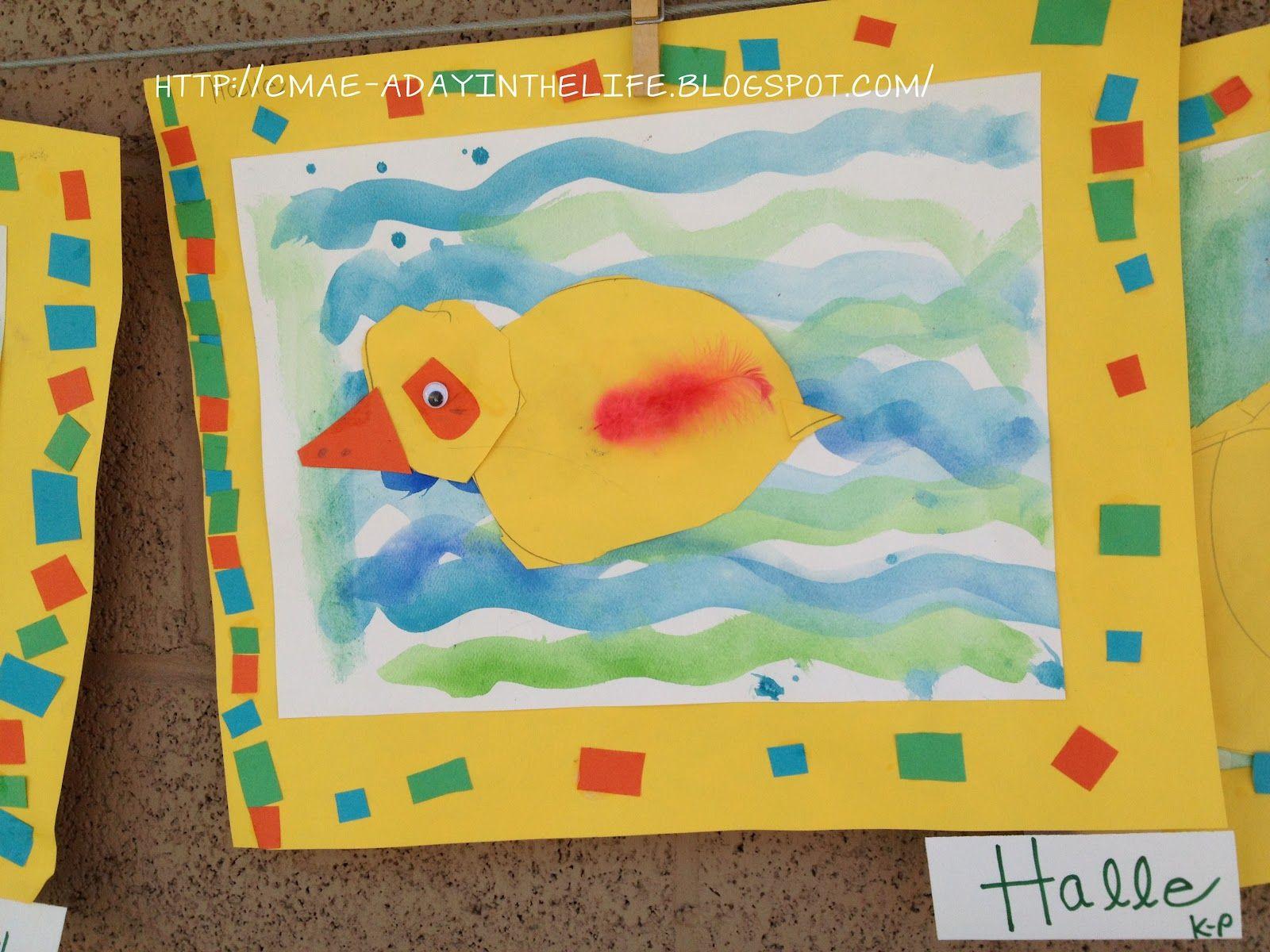 Kinder Ducks   Grade K   Pinterest   Kindergarten art, Art lessons