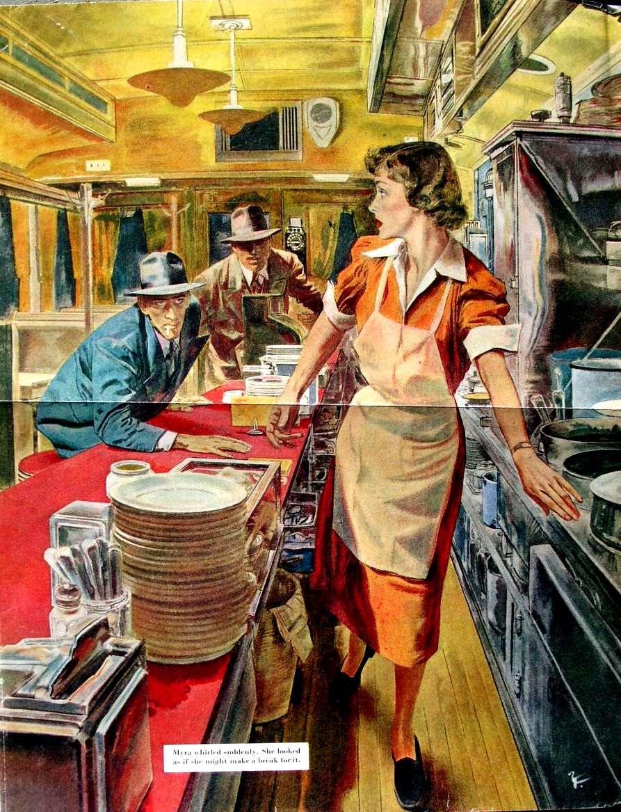 Robert Fawcett-Waitress