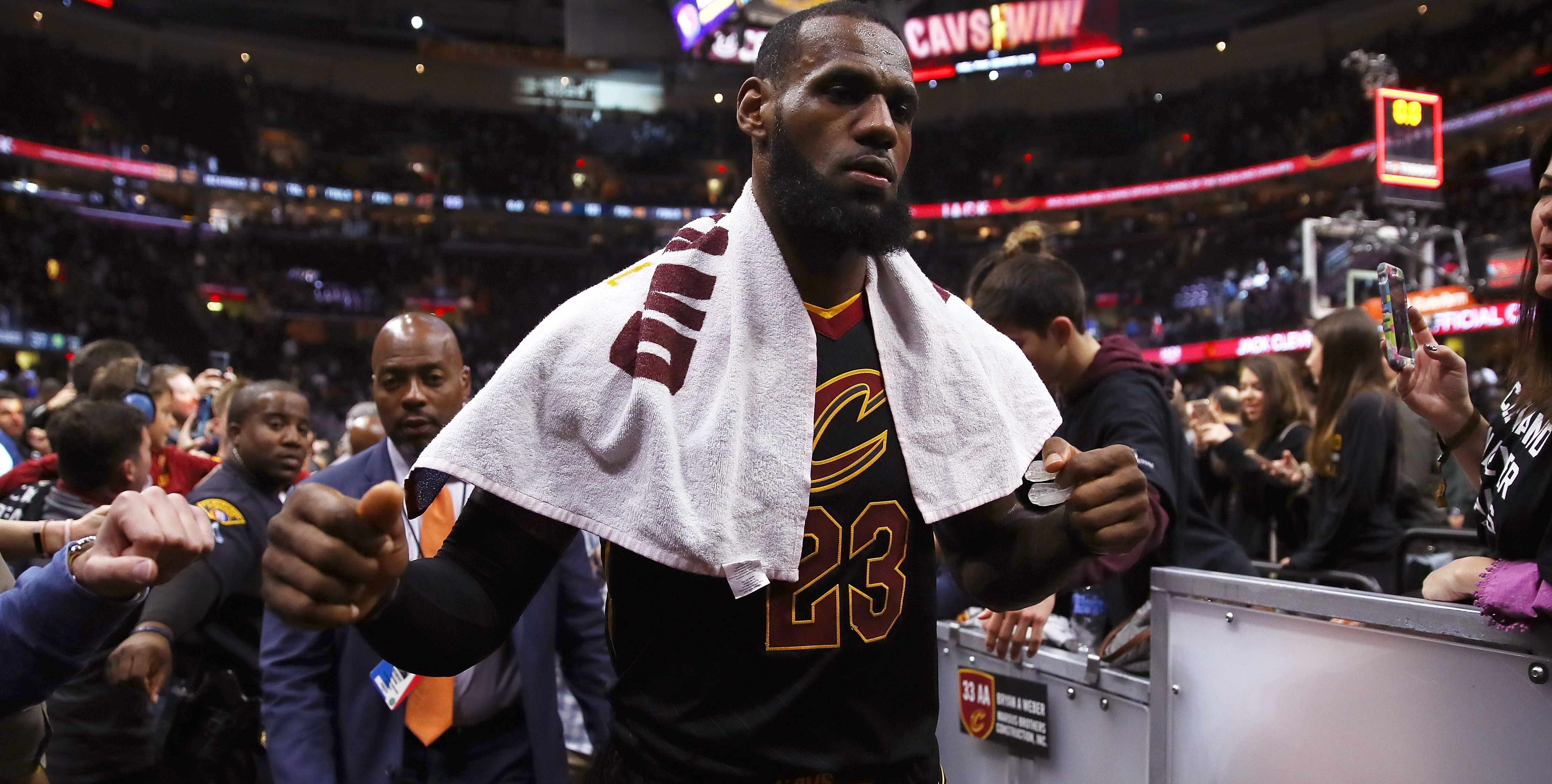 Kings ransom How much more can LeBron do? Basketball
