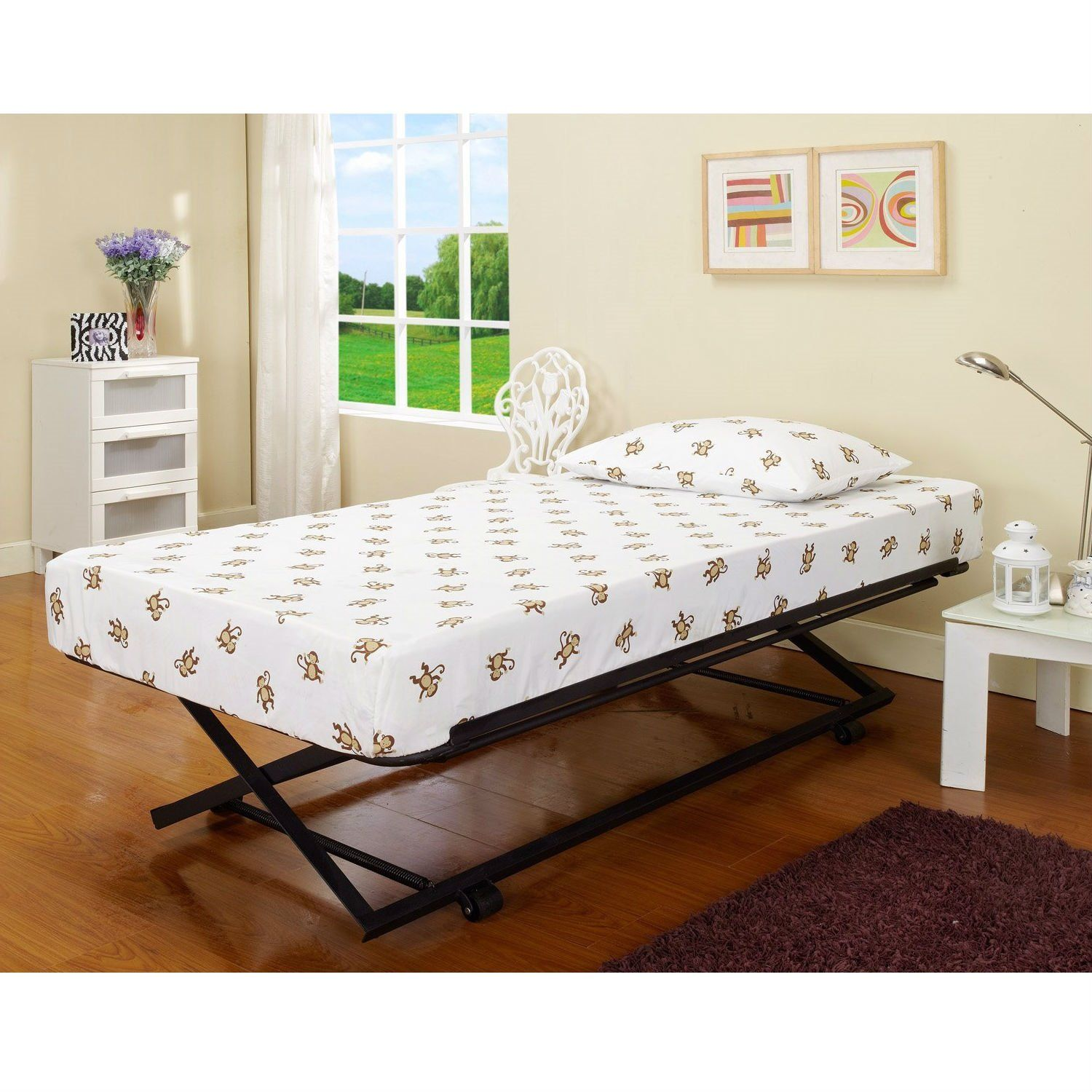 Twin size Pop Up Trundle for Day Beds or Guest Bed in 2019