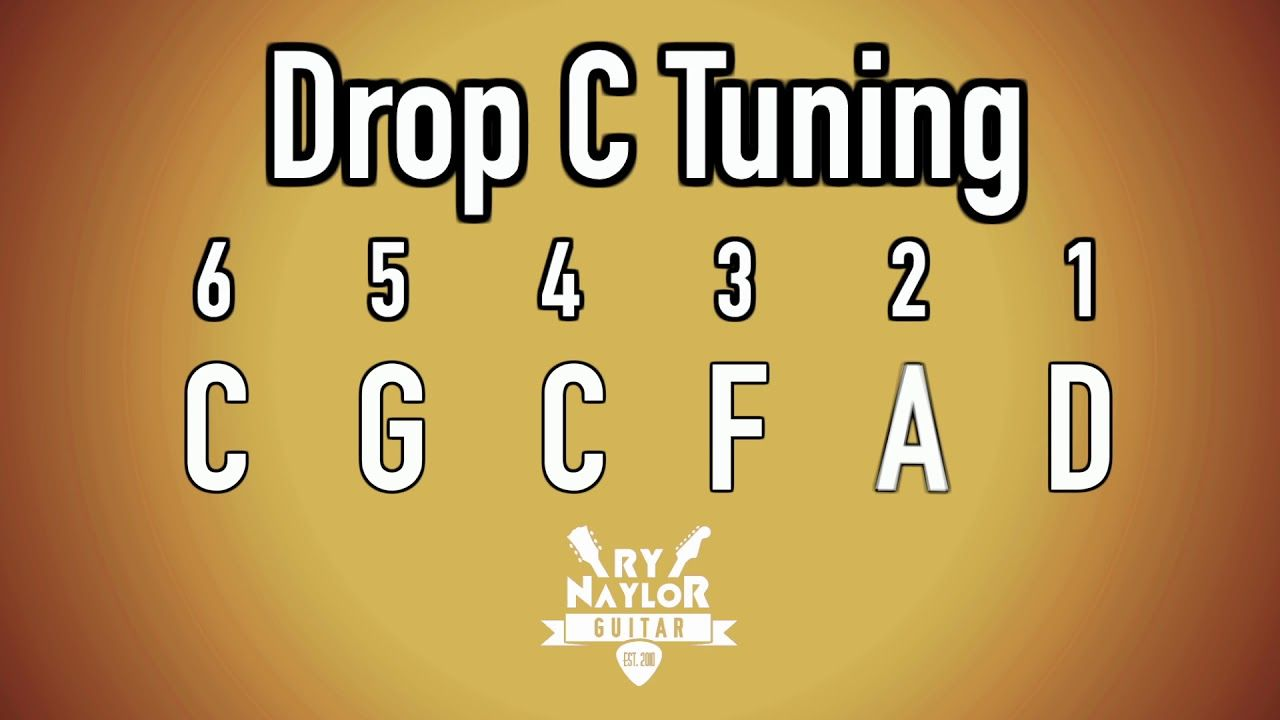 Drop c guitar tuning notes guitar tuning guitar notes