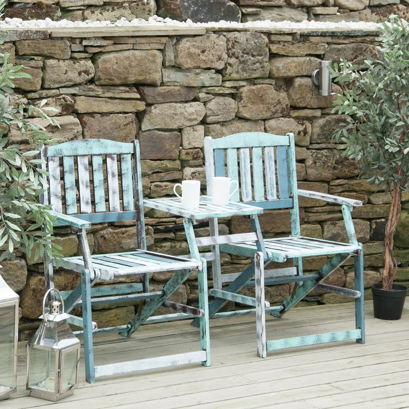 You'll love the Tahiti 2 Seater Wooden Bench at Wayfair.co ...