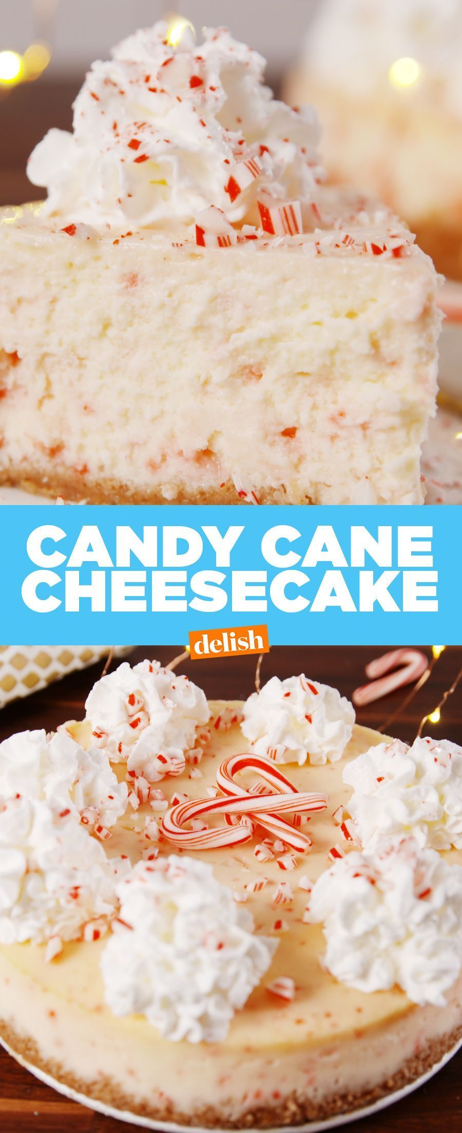 Buy Amazon: /31FY04s Cane Cheesecake All we want for Christmas is this INSANE Candy Cane Cheesecake. Get the recipe at .All we want for Christmas is this INSANE Candy Cane Cheesecake. Get the recipe at .