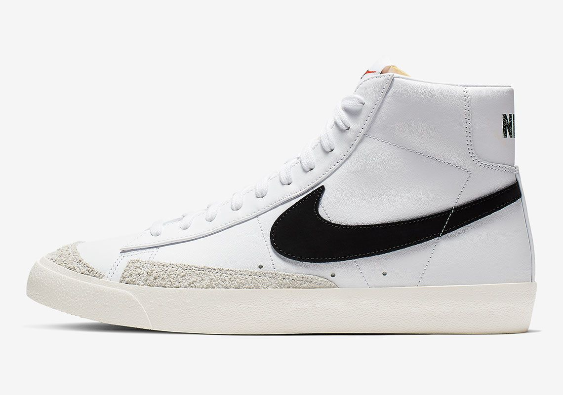 3685ec00ece80 The Nike Blazer Mid Vintage 77 Is Coming With Black Swooshes ...
