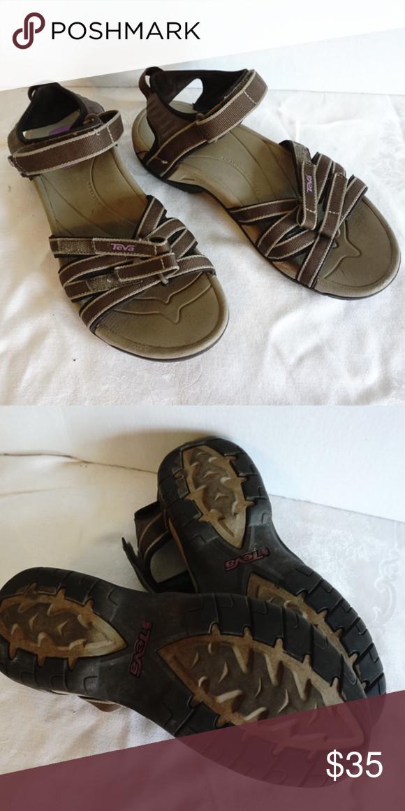 361ecbc248e Brown Teva Tirra Sandal Women Size 9