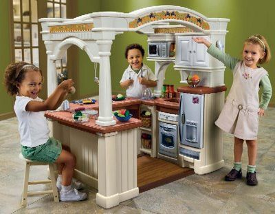 Great LifeStyle Grand Walk In Kitchen This Is An Awesome Play Kitchen Iu0027m Sure It  Costs An Arm And A Leg Tho