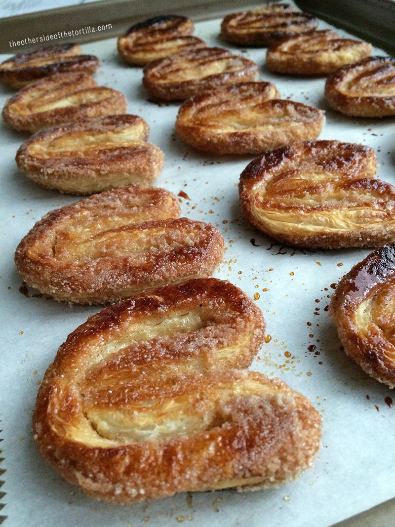 How to make orejas (Palmiers)