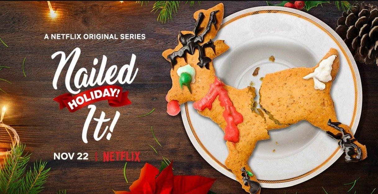 Nailed It! Holiday! Season 2 Holiday themed nails