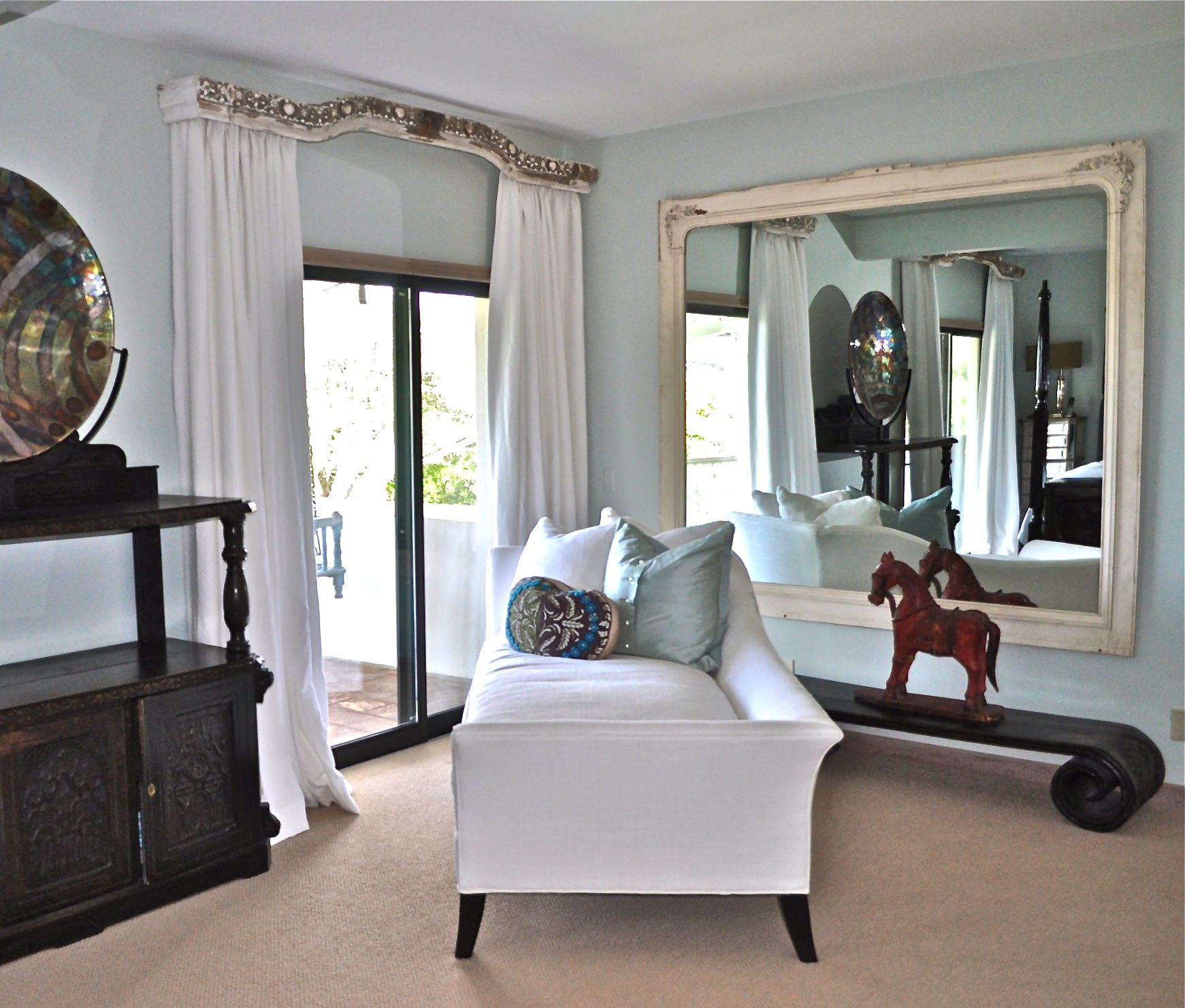 Spanish Master Bedroom Lounge Area; Taylor & Taylor