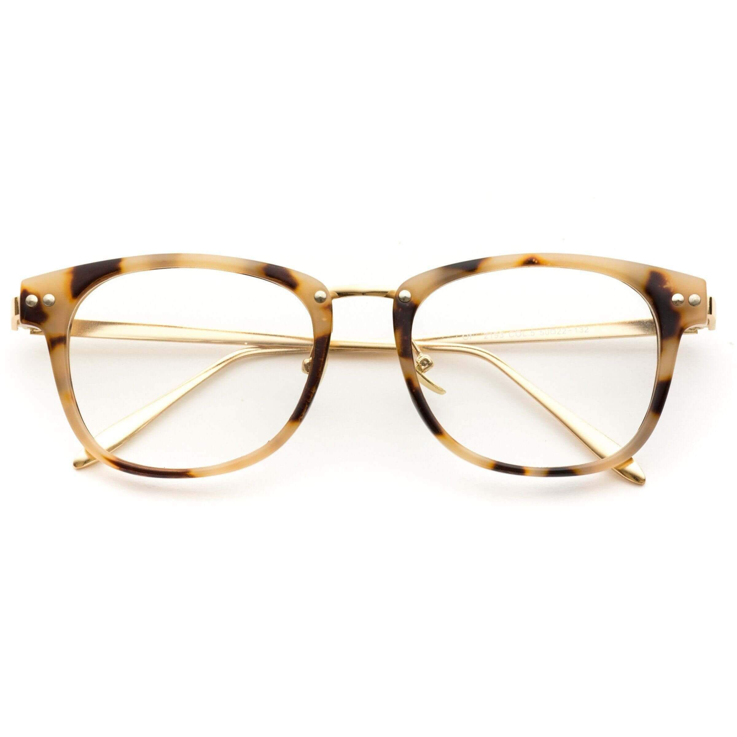 6ff824673ca cream rectangular glasses Clear Eyes