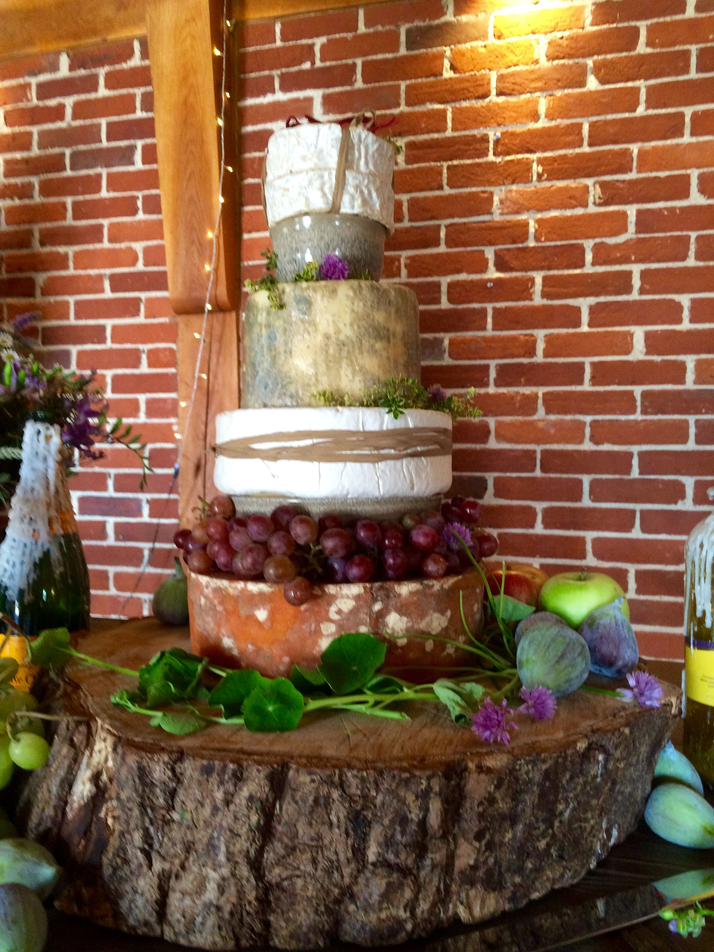 Kentish cheeses cheese tower cheesecake The Ferry House
