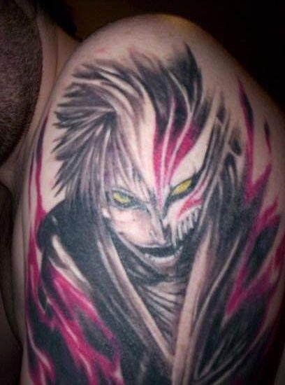 Tatuajes Anime bleach anime tattoo   hardcore anime fans   pinterest   tatuajes