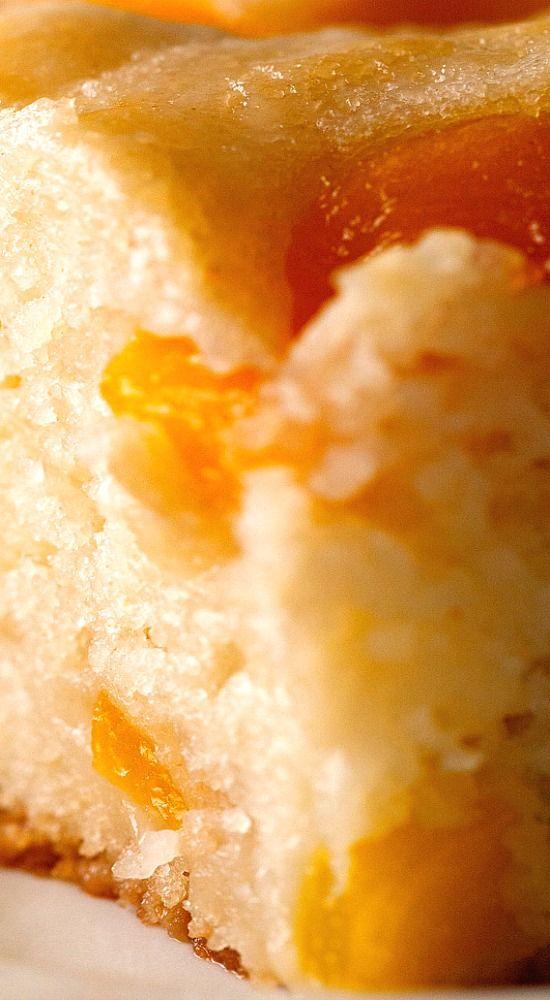 Peach Cobbler Snack Cake…