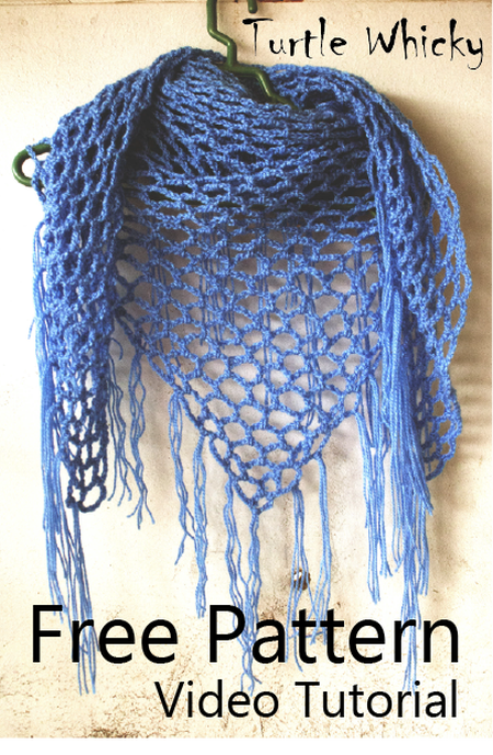 Crochet Triangle Scarf | Turtle Whicky Crochet | Home | crochet ...